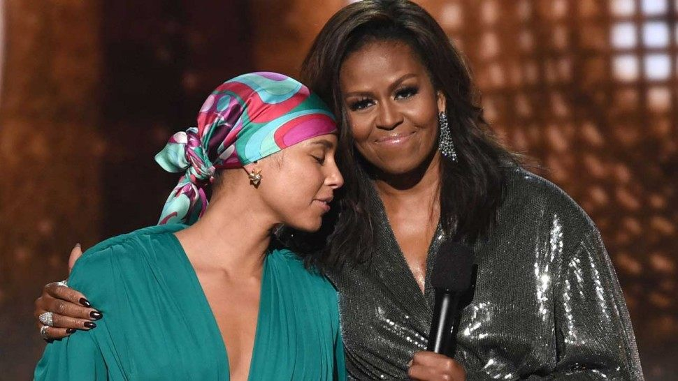 Michelle Obama images 2019 Grammy Awards HD wallpaper and 970x546