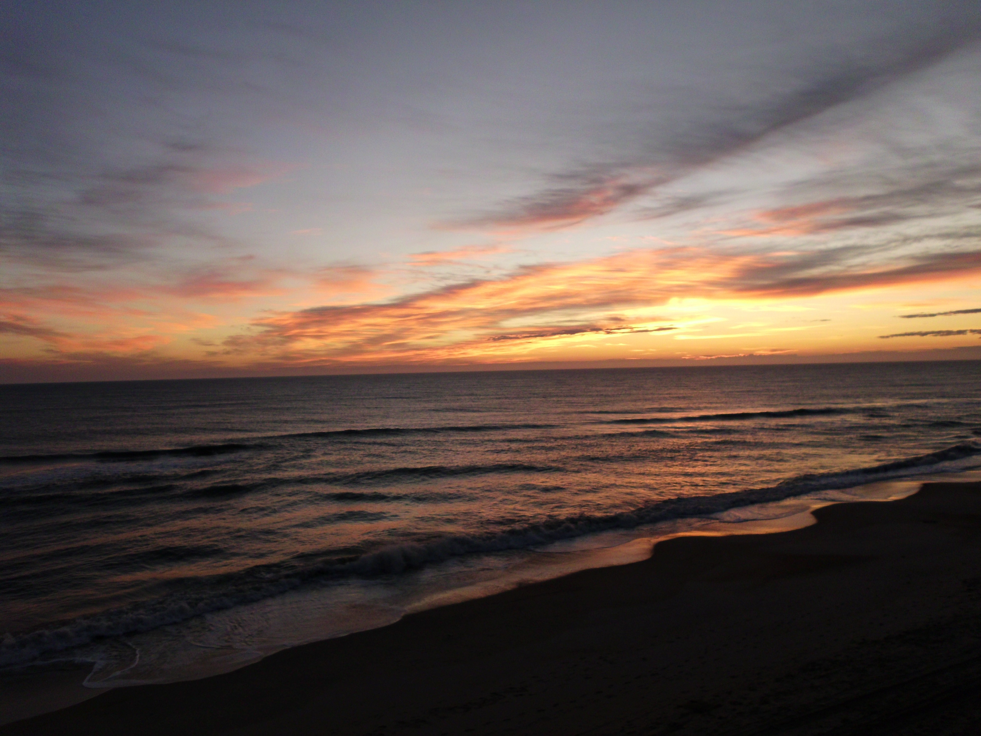 Beaches Beautiful Sunrise Nags Head Sunshine Ocean North Carolina 4000x3000