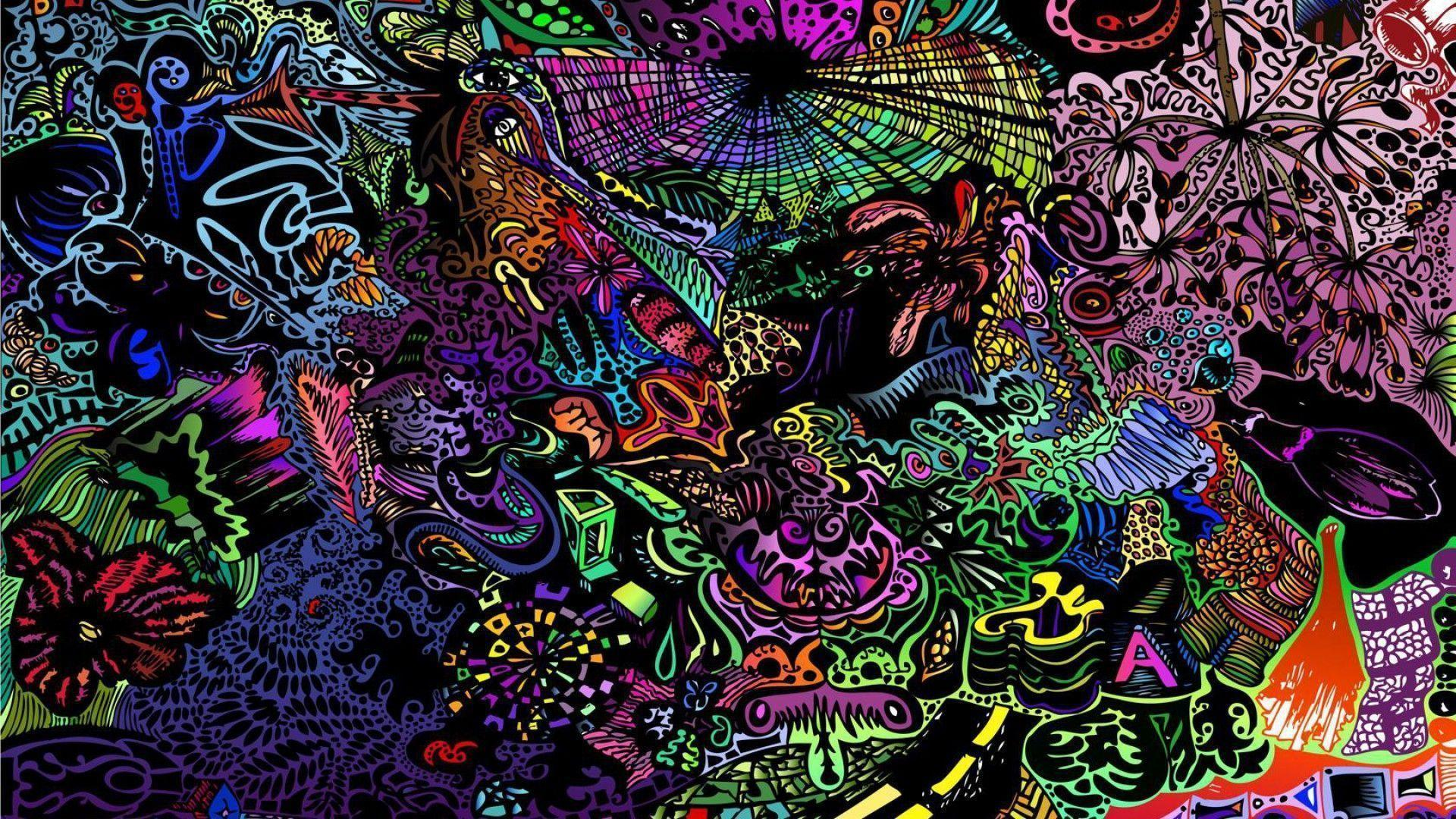 Trippy Wallpapers HD 1920x1080