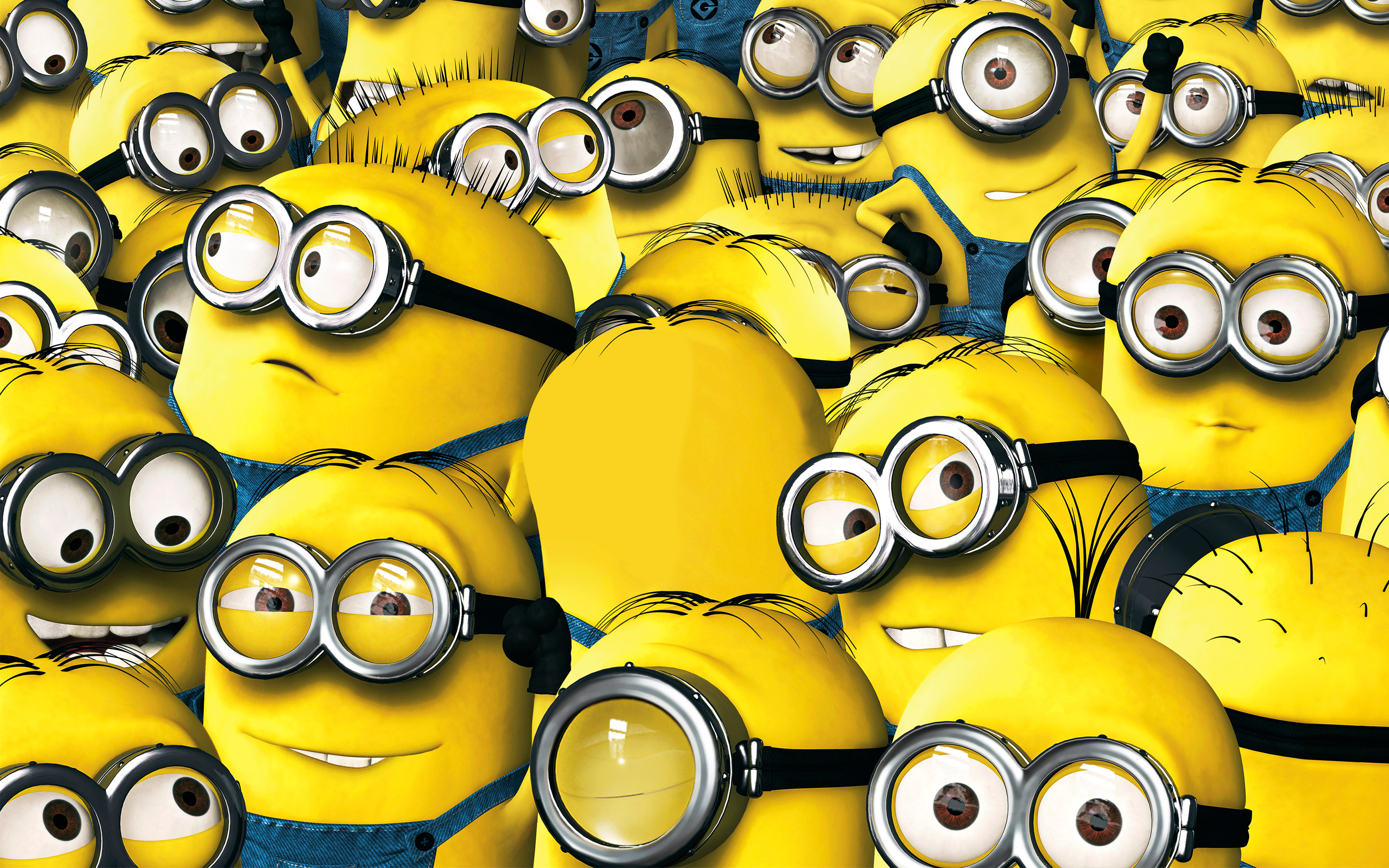 18 Minions Movie HD Wallpapers Background Images 2880x1800