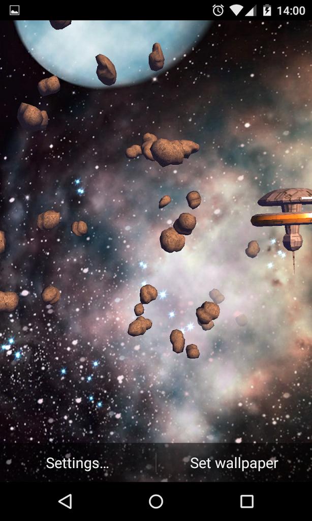 3D Asteroids screenshot thumbnail 2 614x1024