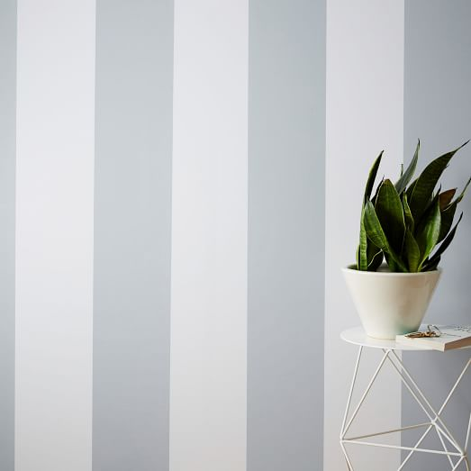 Chasing Paper Wall Panel   Stripe west elm 523x523
