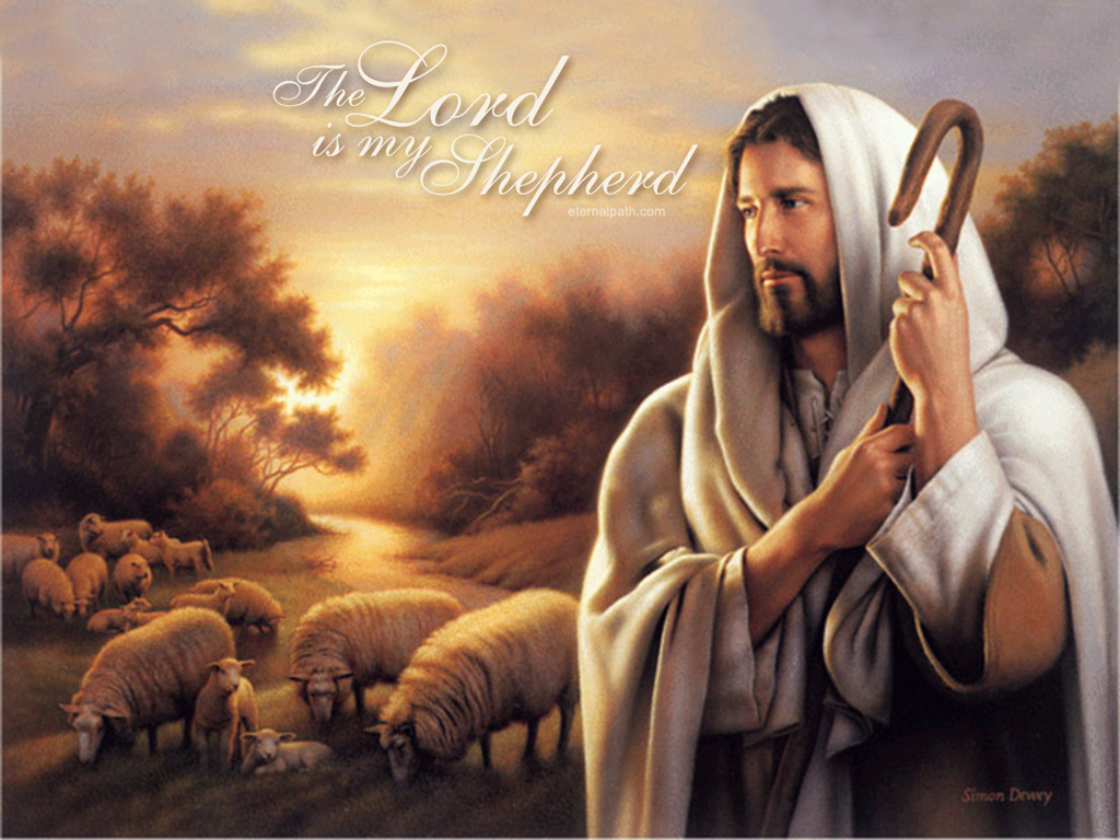 Card Wallpapers Lord is My Shepherd Christian Wallpaper 1024x768