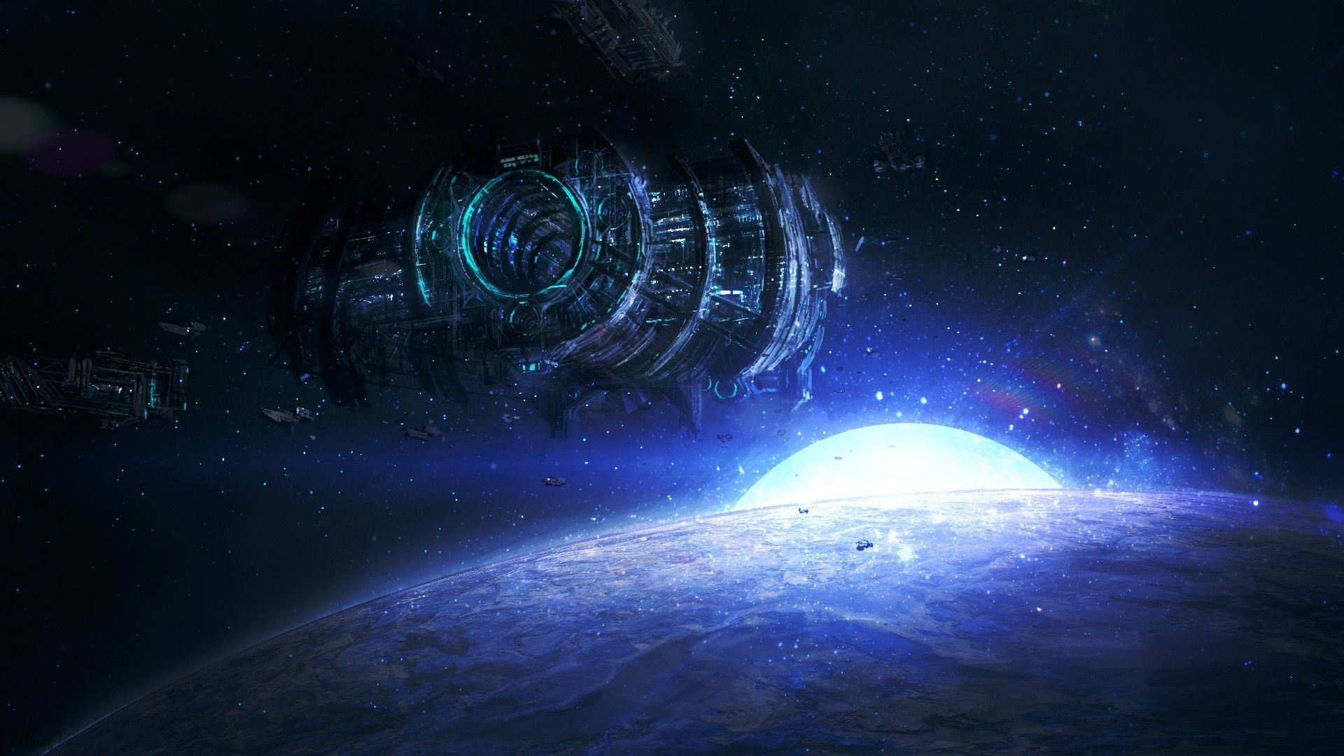 [76+] Cool Space Background Wallpapers On WallpaperSafari