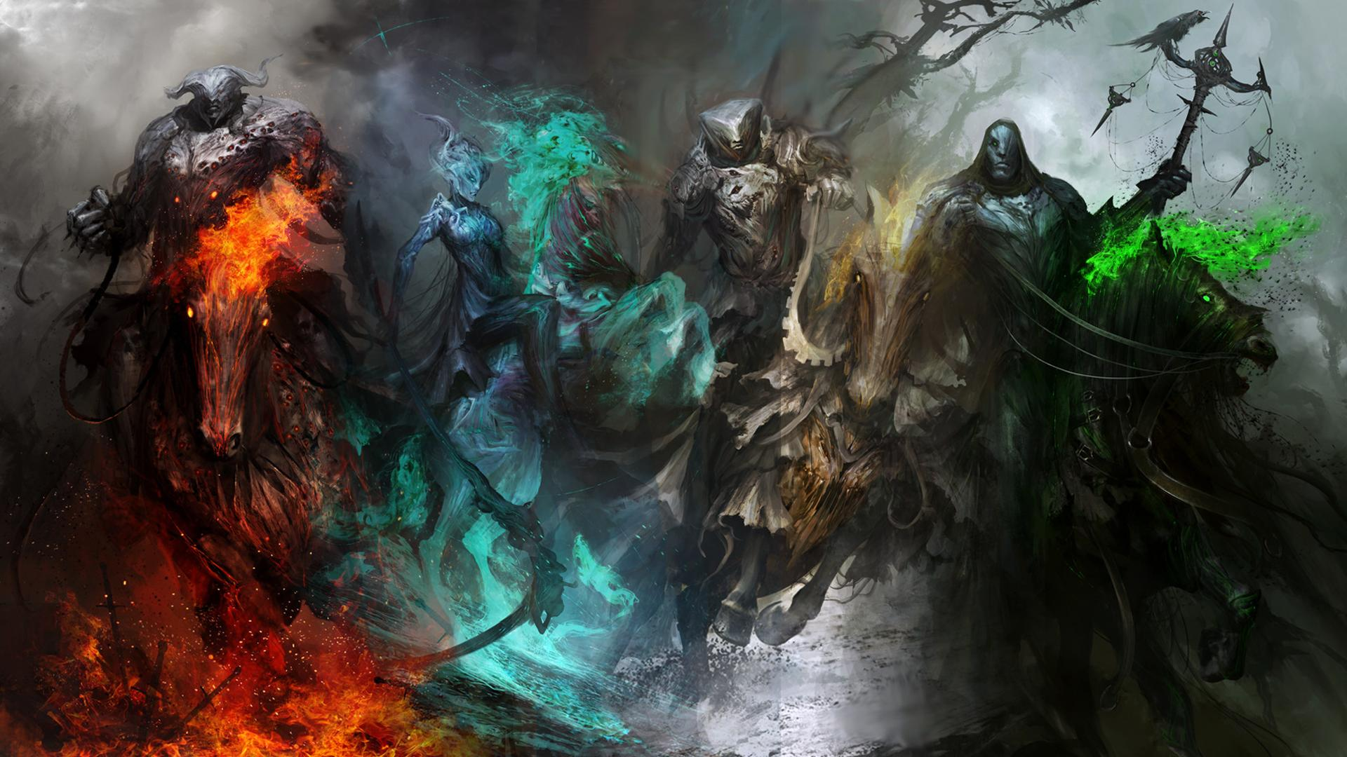 The Four Horsemen 1920x1080 wallpapers 1920x1080
