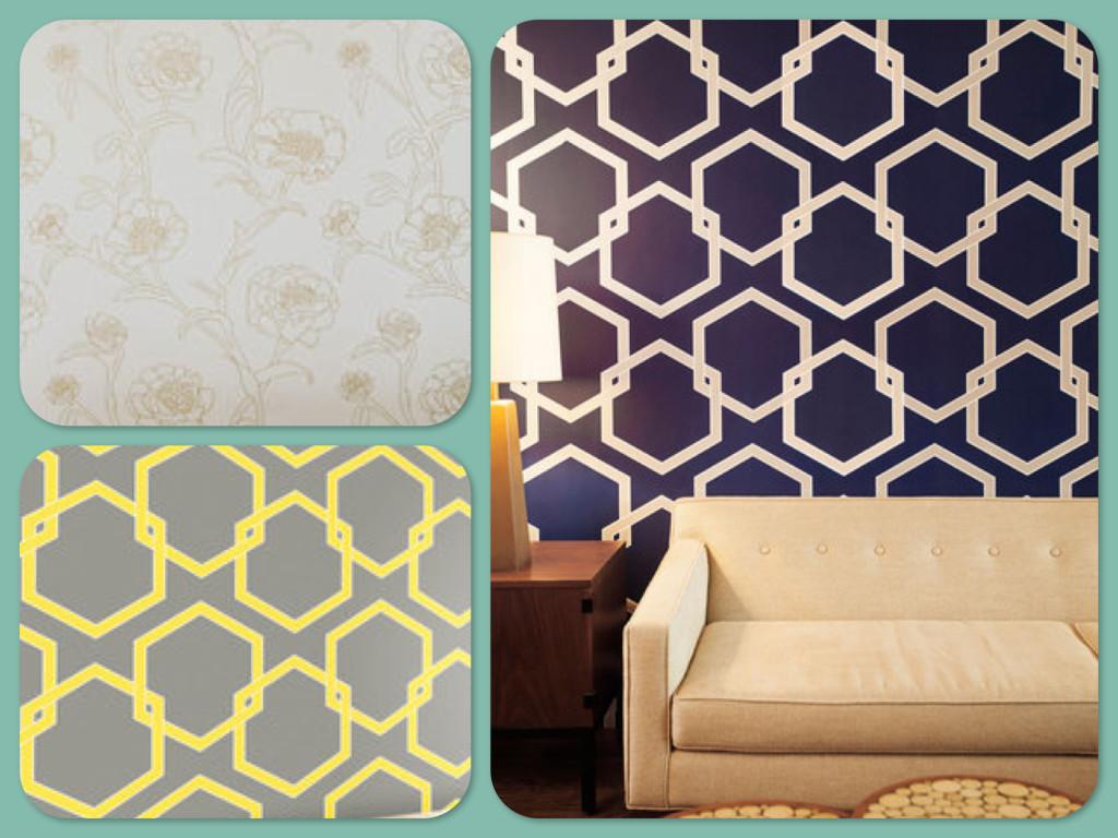Floral Apartment Temporary Wallpaper Oak Park Temporary Wallpaper 1024x768