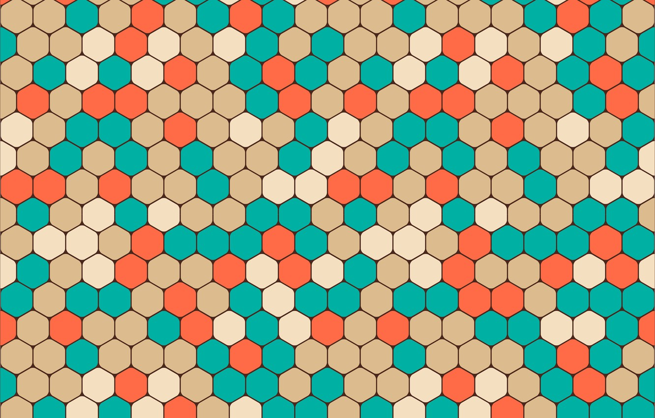 Wallpaper colorful abstract geometry background pattern 1332x850