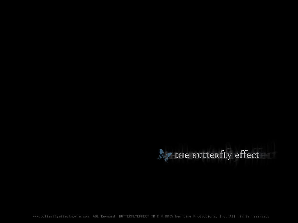 The Butterfly Effect   The Butterfly Effect Wallpaper 18262555 1024x768