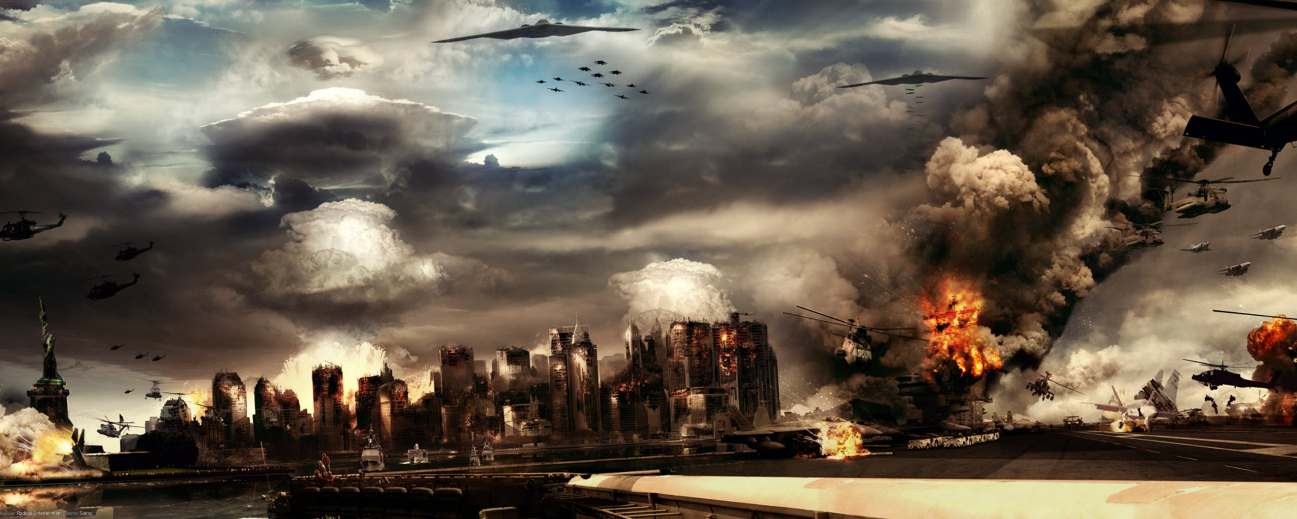Prototype Dual Monitor Wallpapers HD Wallpapers 2560x1024