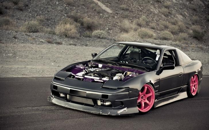 black cars nissan tuning jdm drift x wallpaper www Car Pictures 728x455