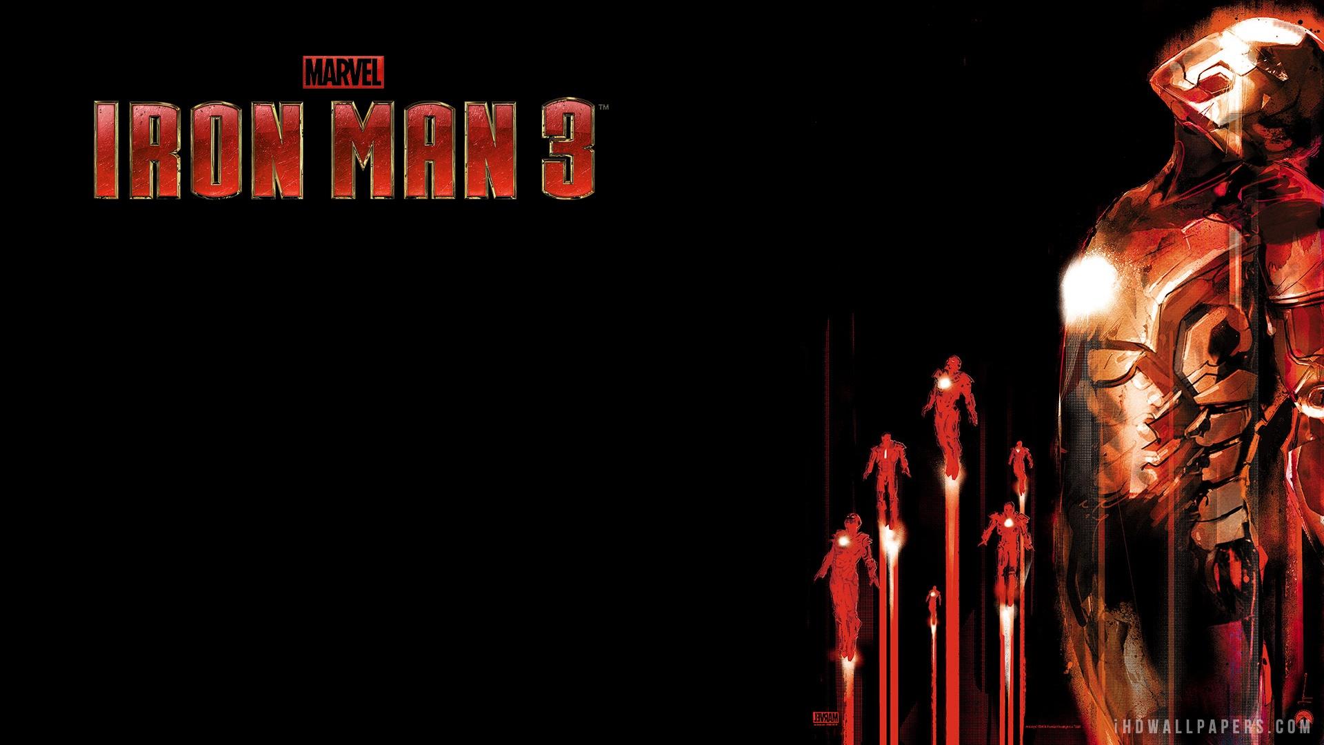 Iron Man 3 IMAX 3D HD Wallpaper IHD Wallpapers 1920x1080