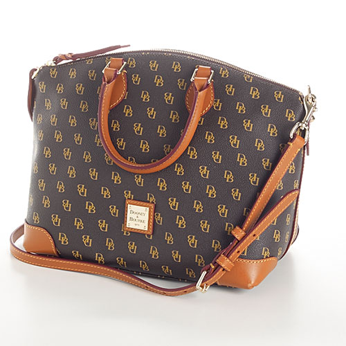 Dooney Bourke Gretta Signature Satchel Images   Frompo 500x500