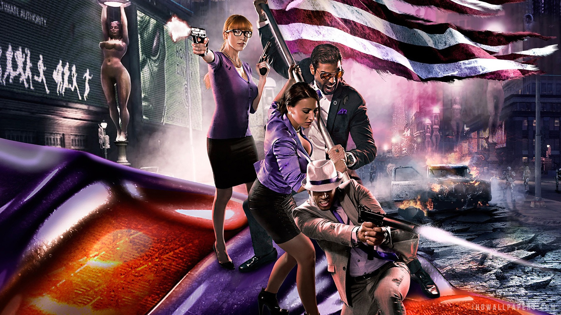 Saints Row 4 Wallpapers: Saints Row 3 Wallpaper