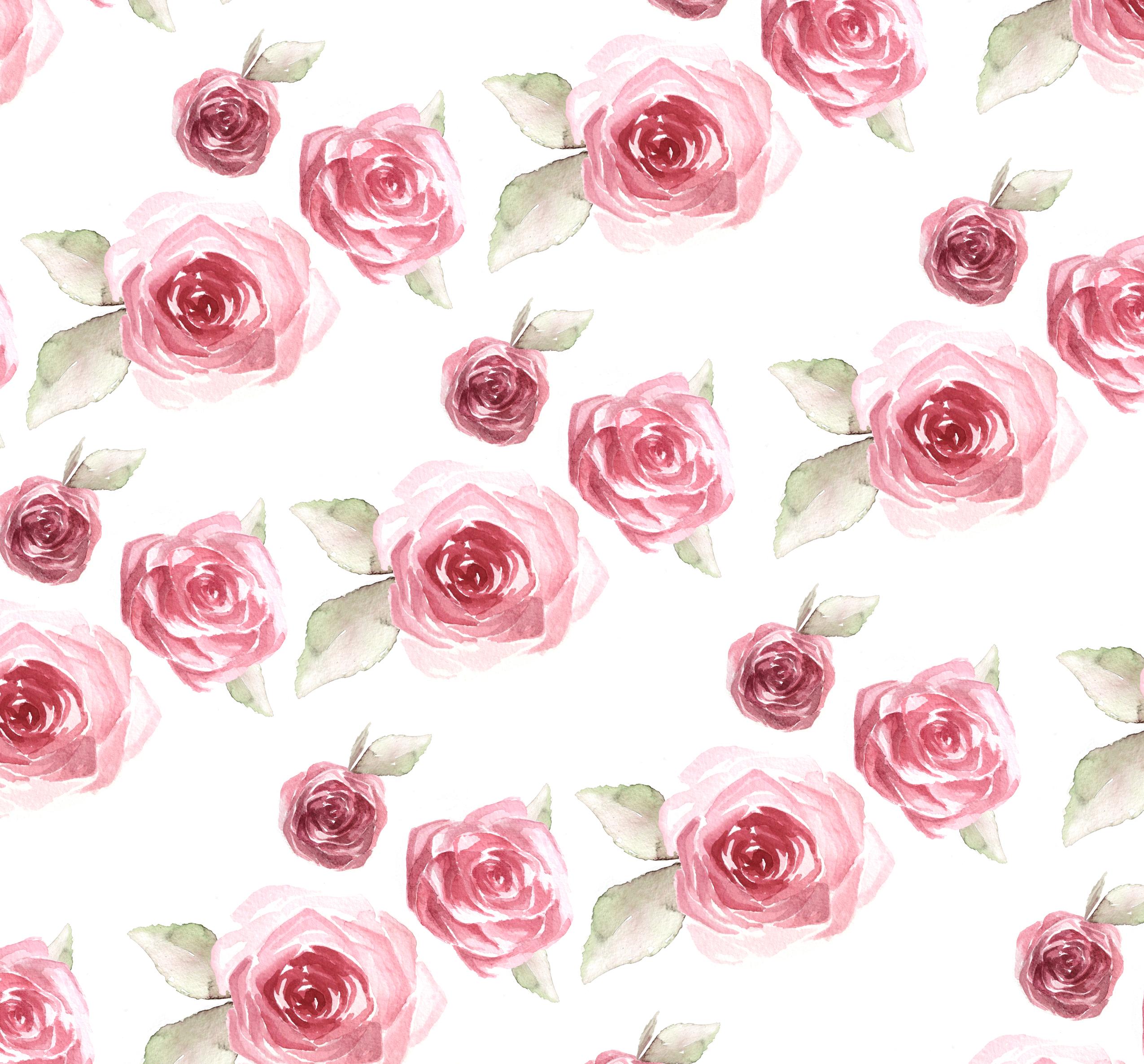 43 Rose Pattern Wallpaper On Wallpapersafari