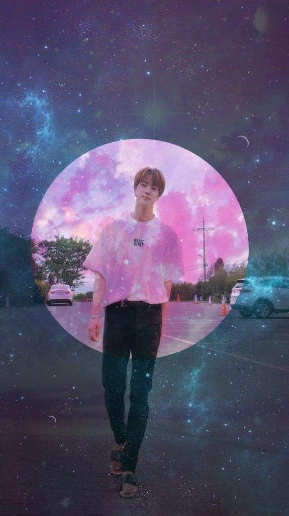 JIN GALAXY WALLPAPER ARMY Aesthetics Amino 575x1024