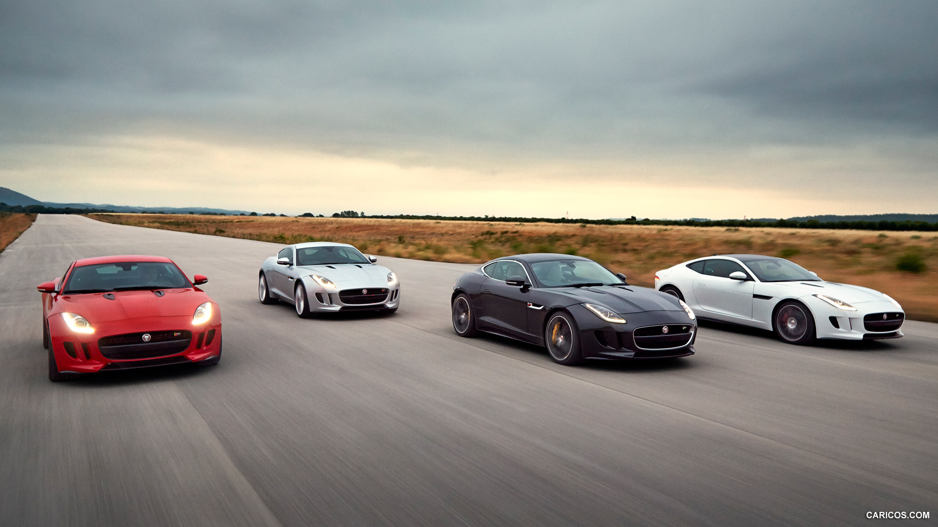 Free Download 2015 Jaguar F Type R Coupe And F Type S Front Hd