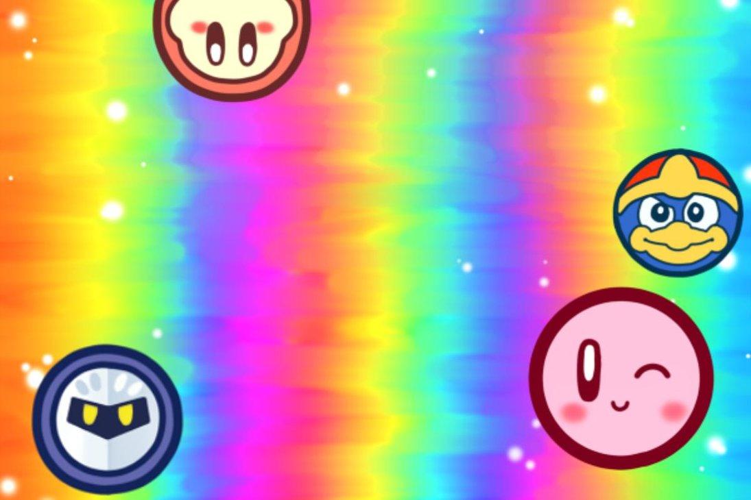 Kirbys Canvas Curse Wallpaper by KLE Kono Llama Eve 1095x730