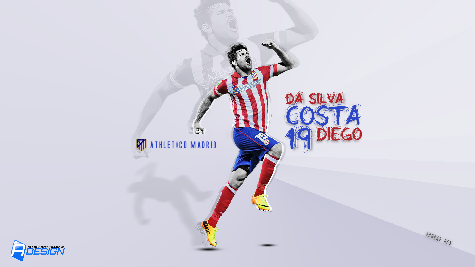 diego costa atletico madrid 2014 wallpaper Desktop Backgrounds 1920x1080