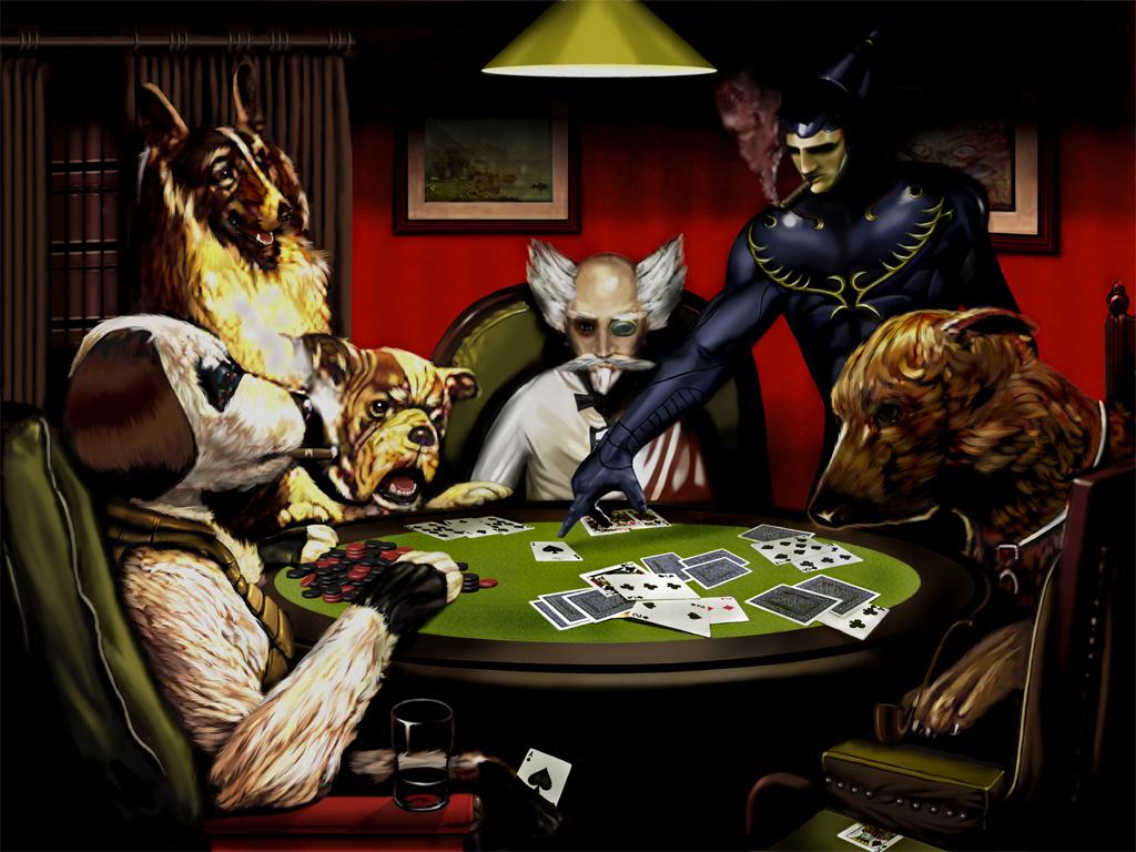 Dogs playing poker wallpaper wallpapersafari - Poker wallpaper ...