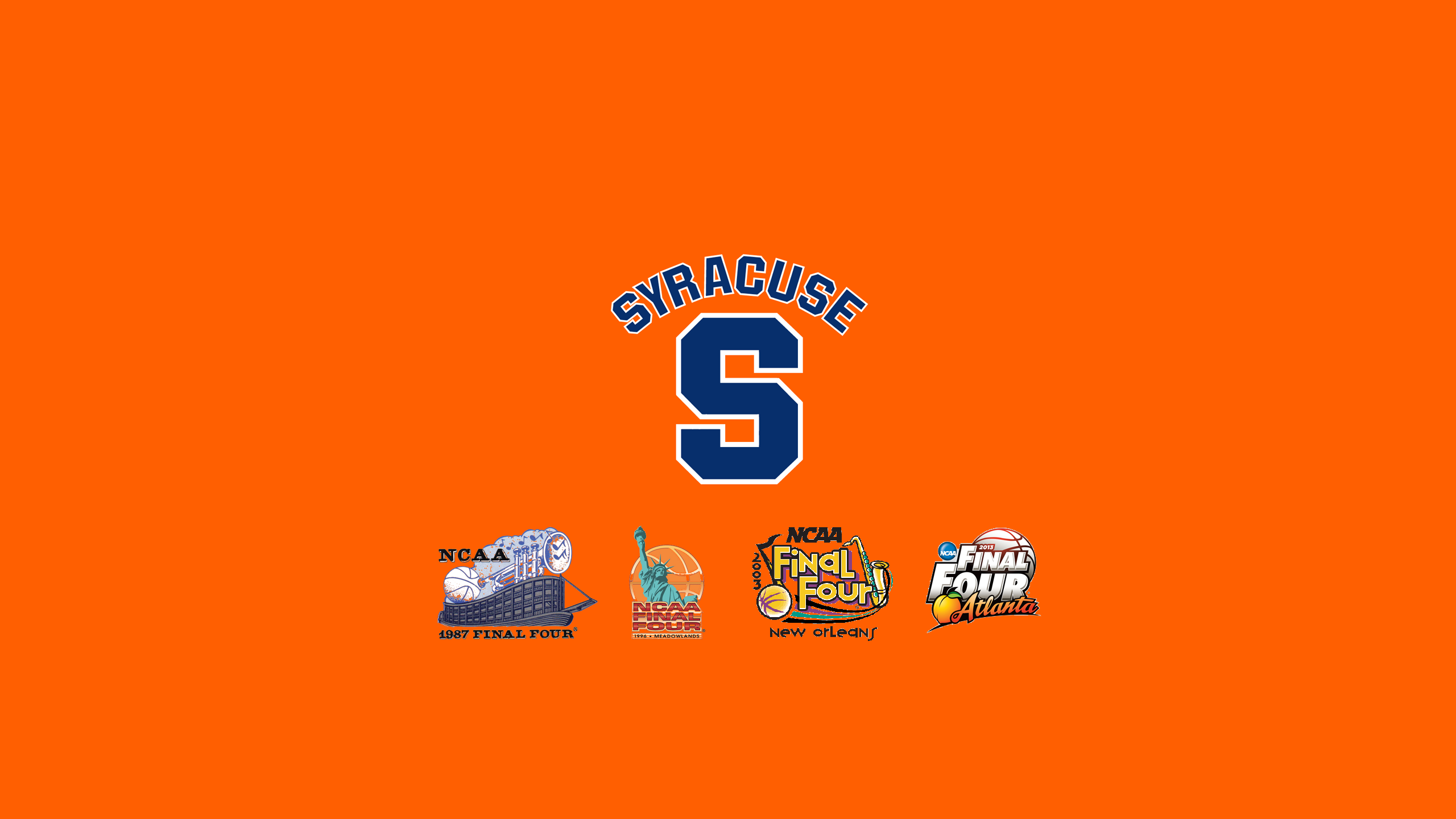 Syracuse Logo Wallpaper 2560x1440