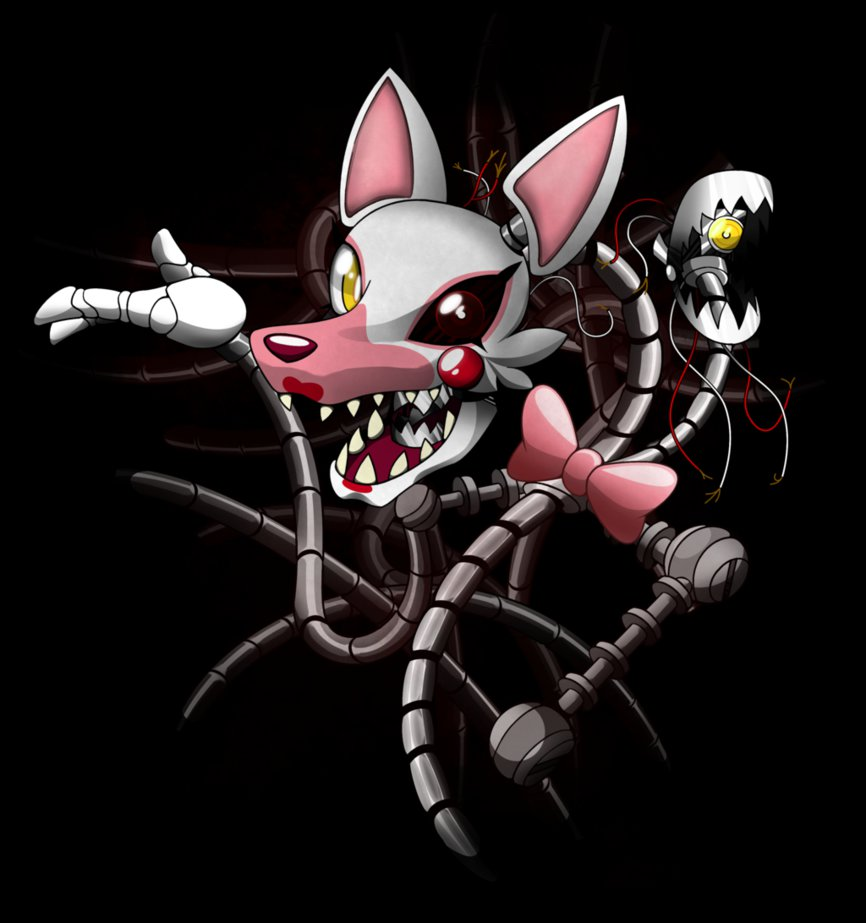 FNaF 2   Foxy 20 Mangle by BlindSnipeFreeLancer 866x923