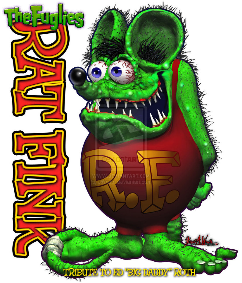 Rat Fink Wallpapers