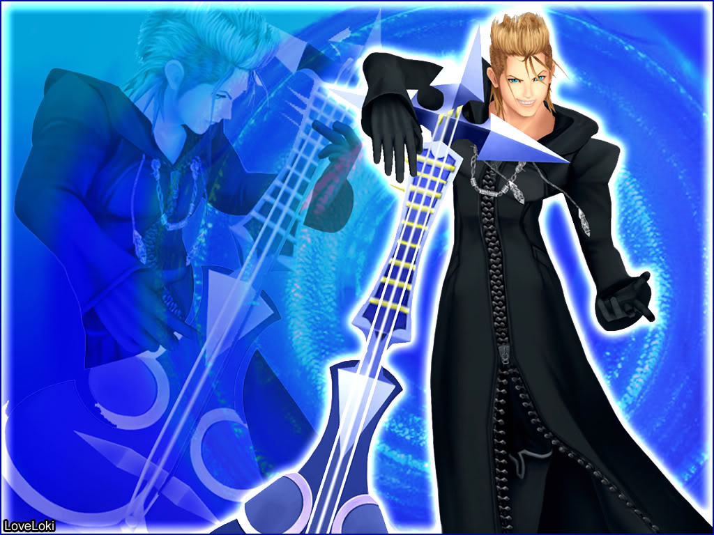 Kingdom Hearts Saix Wallpaper   Kingdom Hearts Demyx 1108303 1024x768