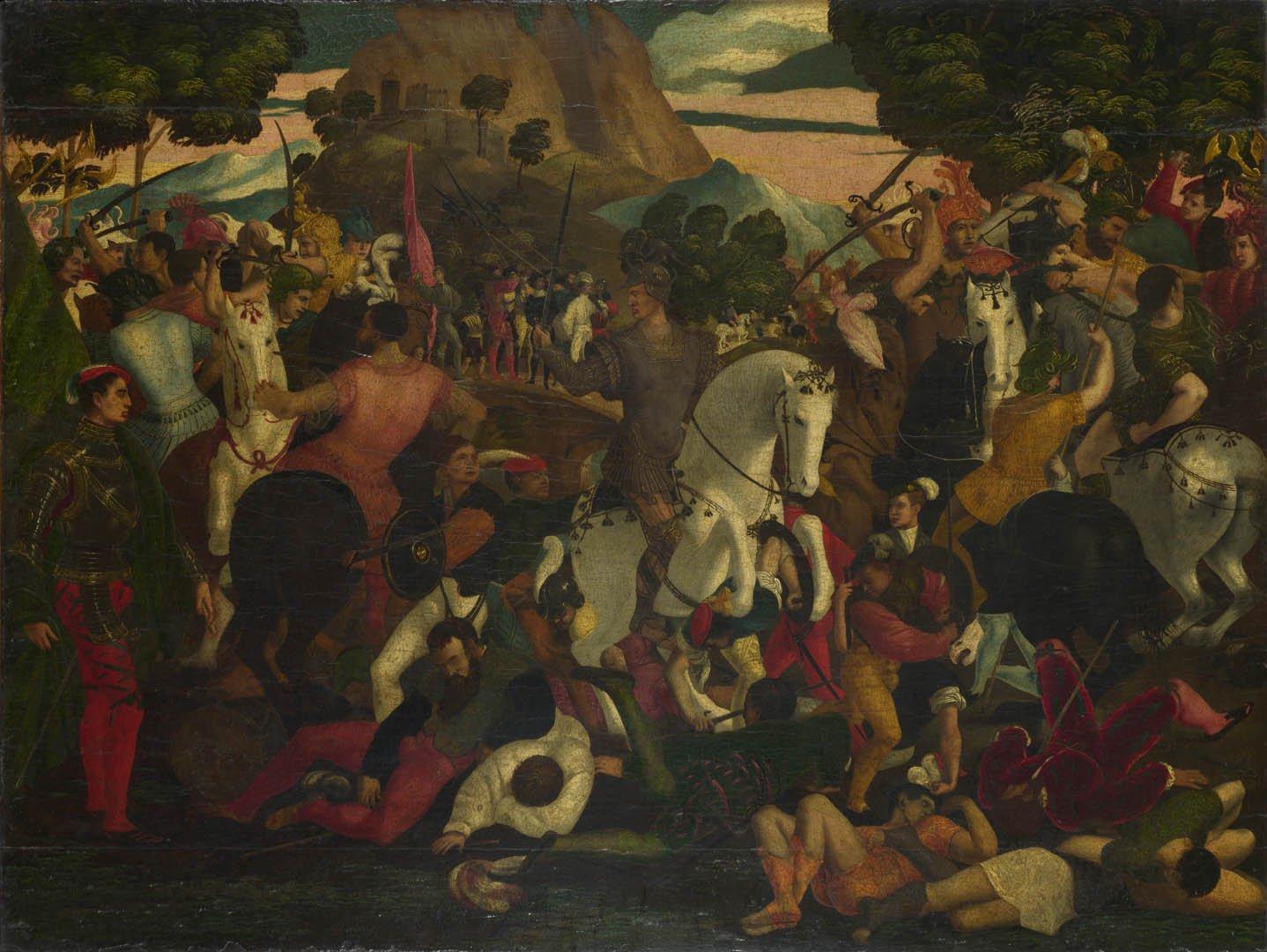 Battle   A italian renaissance northern art wallpaper picture 1438x1080