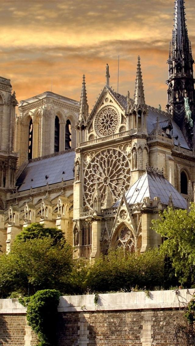 free notre dame iphone 5 backgrounds download 640x1136 hd iphone 5 640x1136