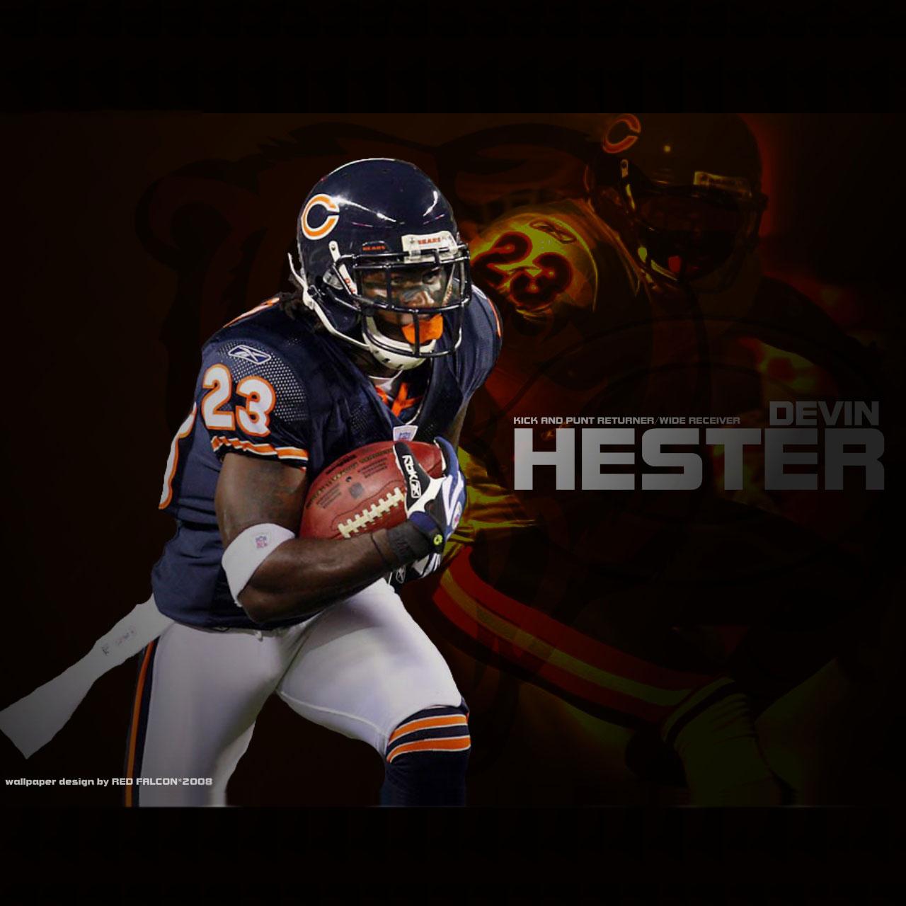 Chicago Bears Da Bears Wallpaper PicsWallpapercom 1280x1280