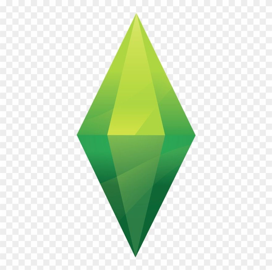 Sims 4 Plumbob Png Clipart 1359038   PinClipart 880x874