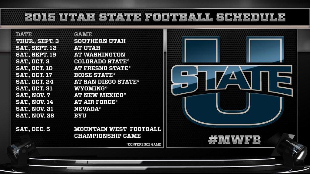 Utah State Football USUFootball Twitter 1024x576