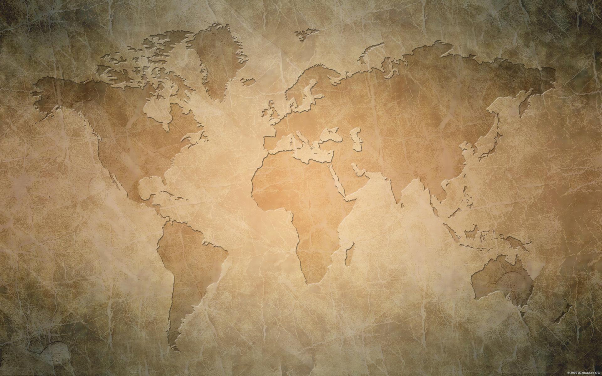 World Map Wallpaper 1920x1200 World Map 1920x1200