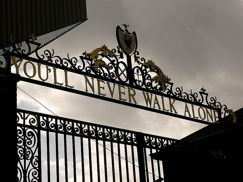 Youll never walk alone picture 1000 Goals 500x375