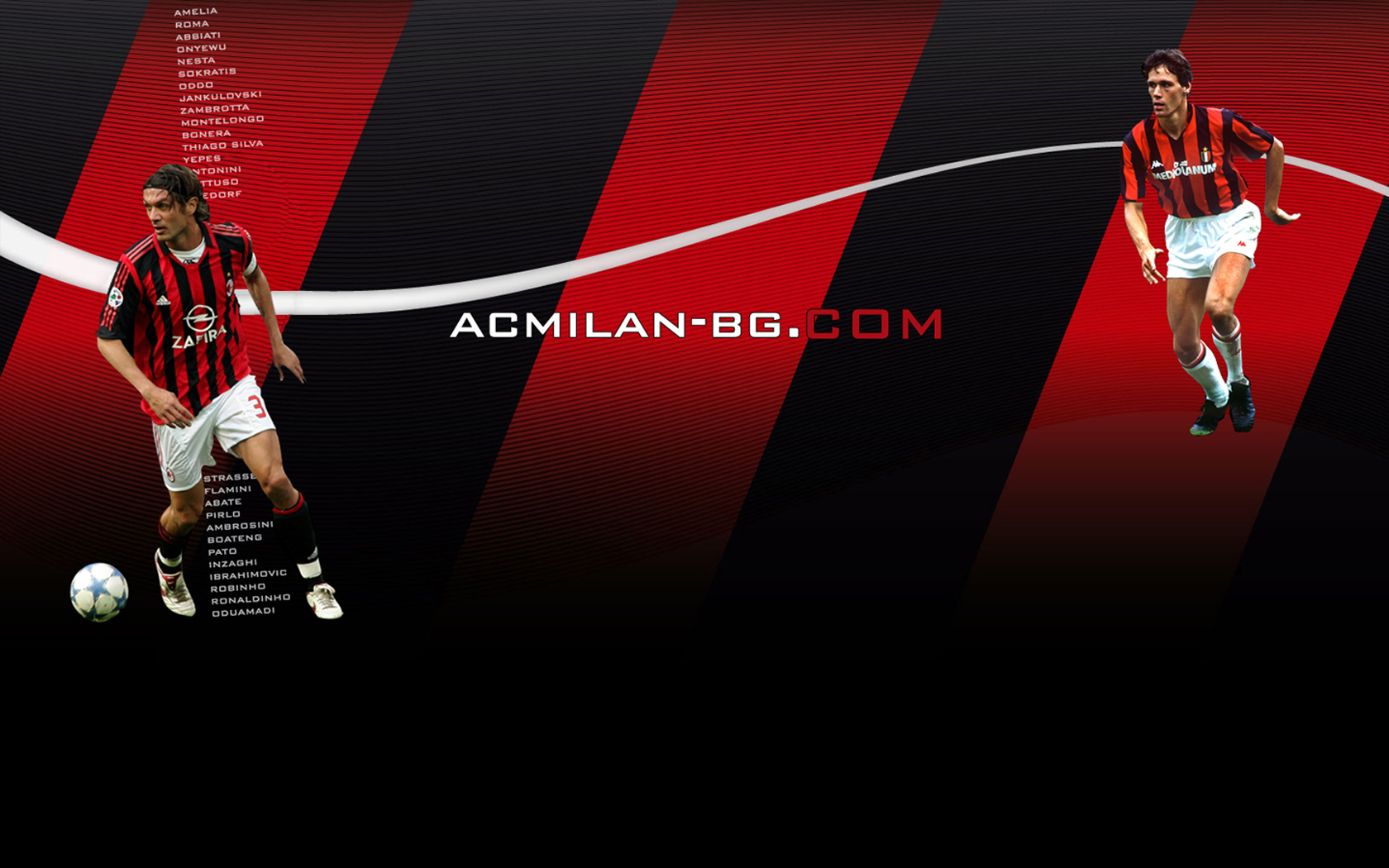 Ac Milan Wallpaper Android Football Wallpaper 1680x1050