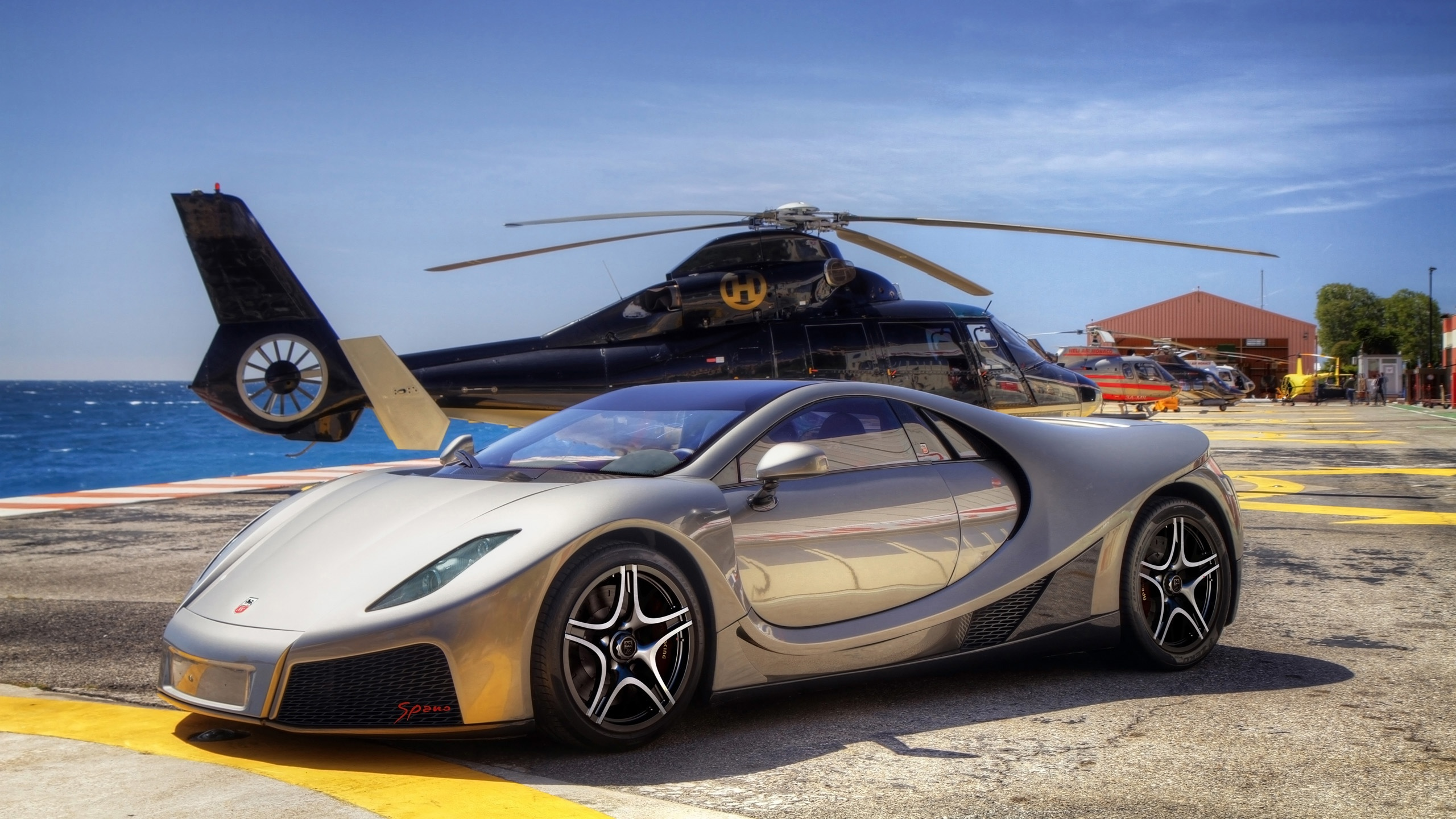Free Download 2014 Gta Spano Silver Wallpaper Hd Car