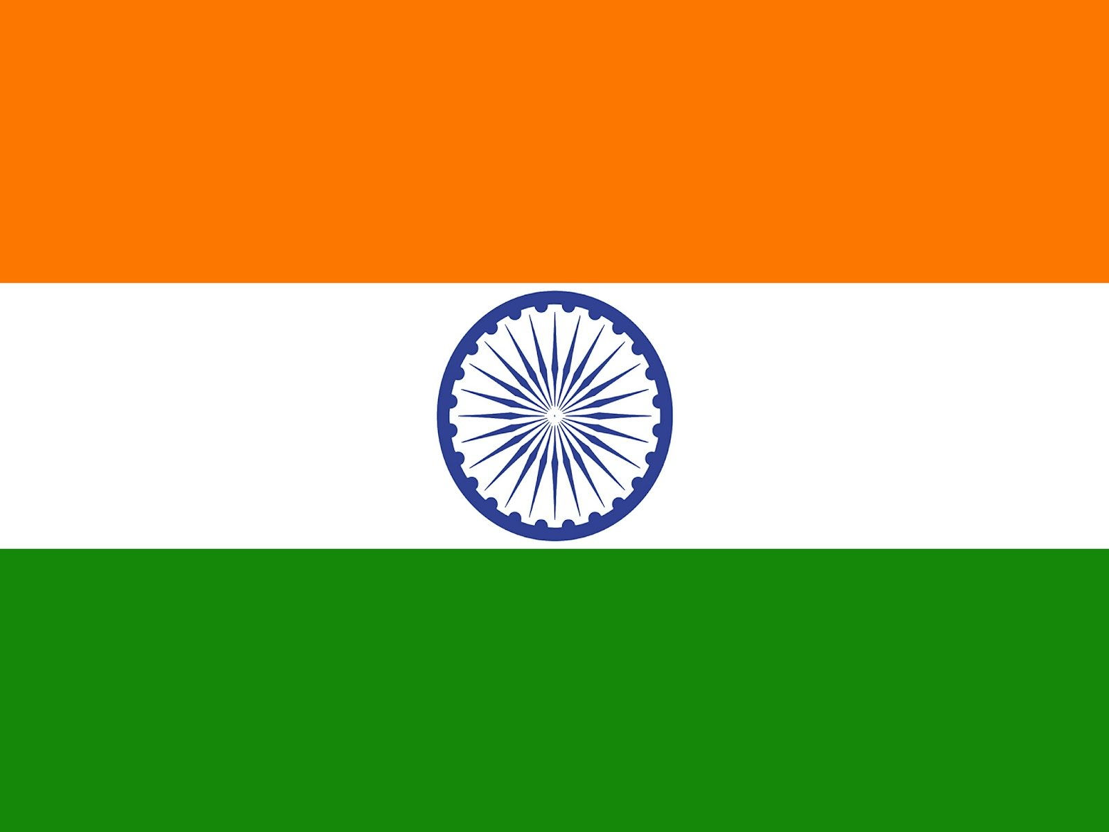 Display Indian flag wallpaper for download Download Indian 1600x1200