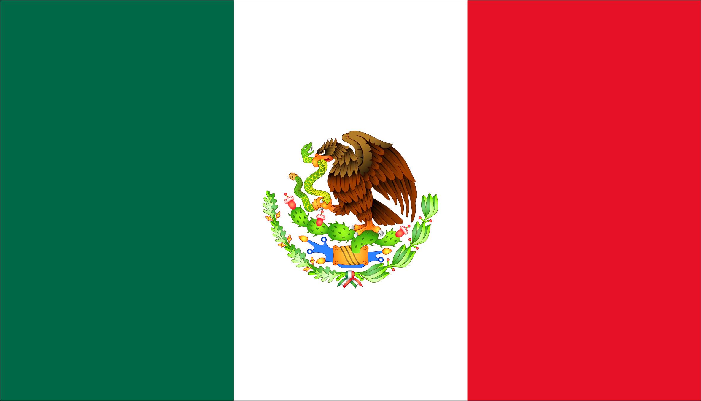MEXICO FLAG   MyItalia 2363x1351