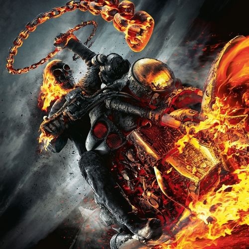 Download Ghost Rider Spirit Of Vengeance Wallpaper For iPhone 4 500x500