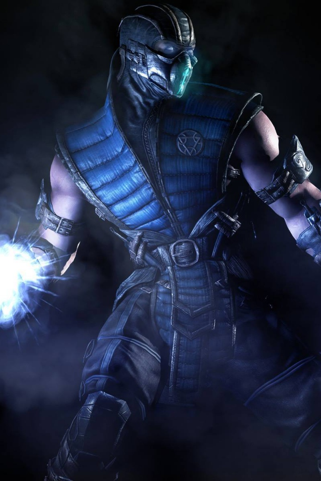 Download Wallpaper 640x960 Mortal kombat x Netherrealm studios Sub 640x960