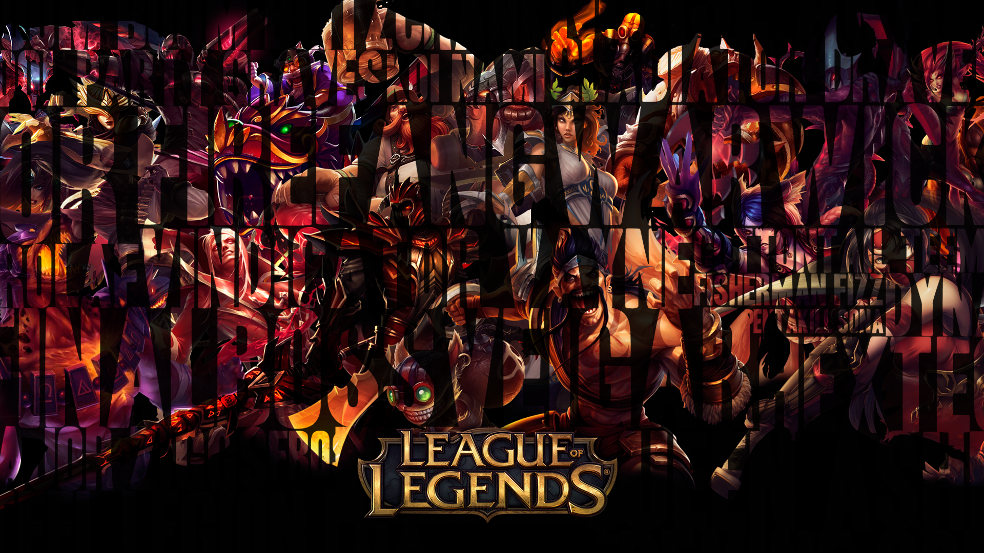 Download League of Legends Online Game HD Wallpaper. Search more high ...