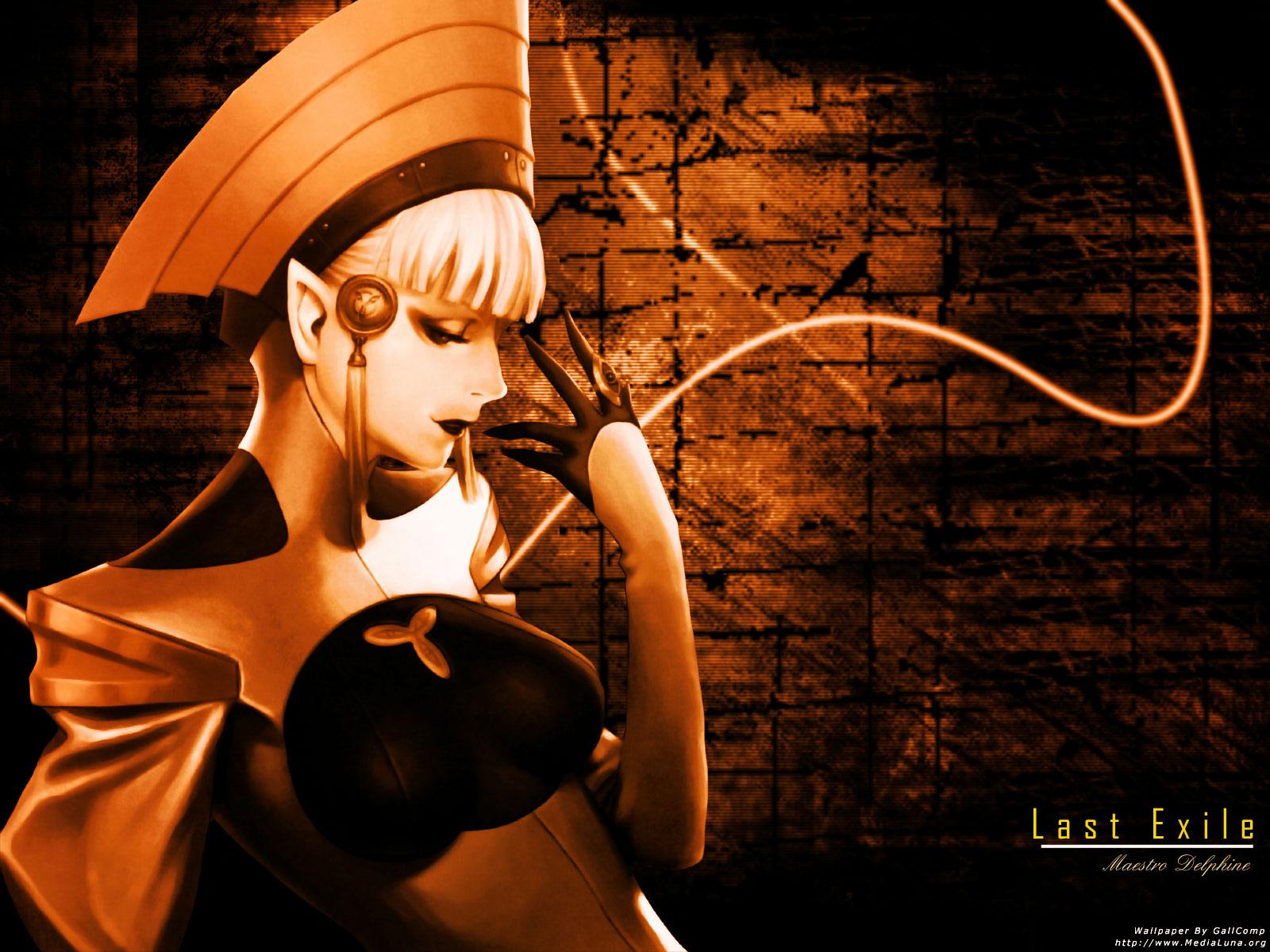 Muryou Anime Wallpaper Last Exile Maestro Delphine Eraclea 1600x1200