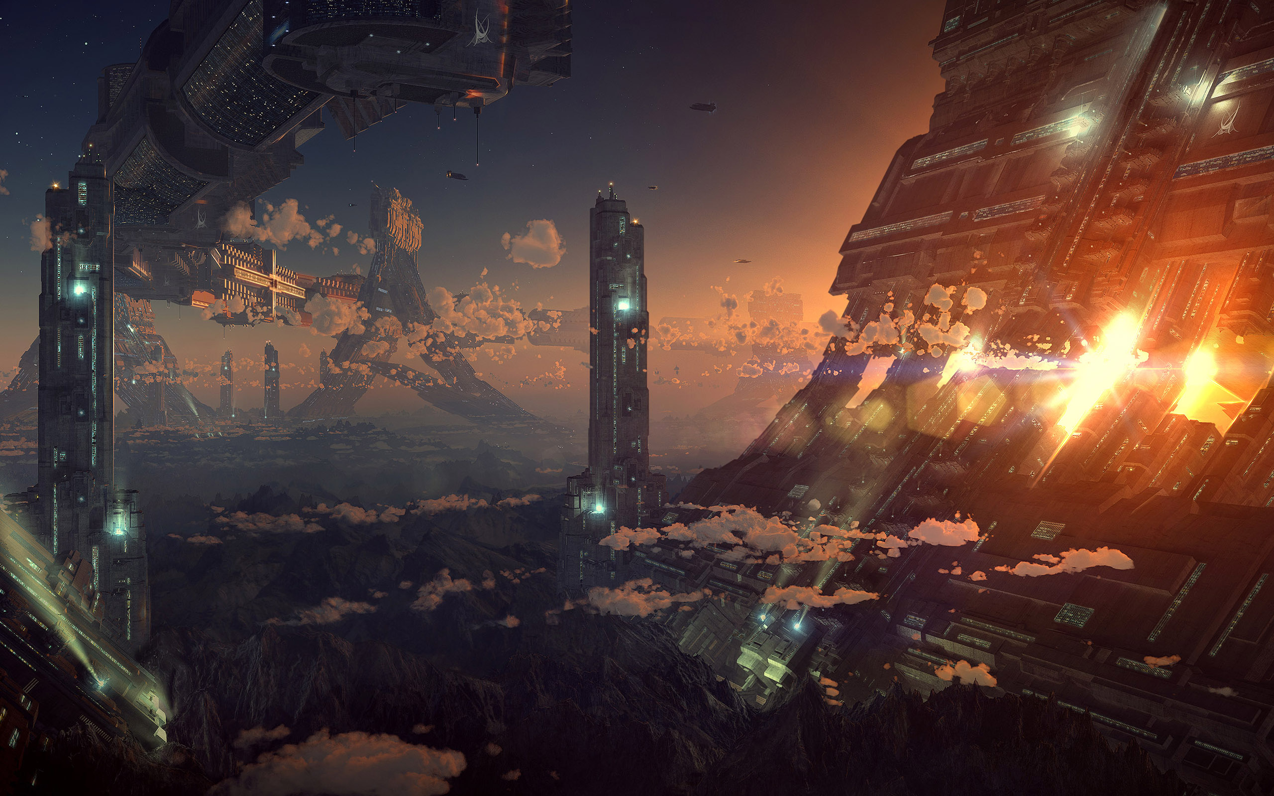 Sci Fi Wallpapers Best Wallpapers 2560x1600
