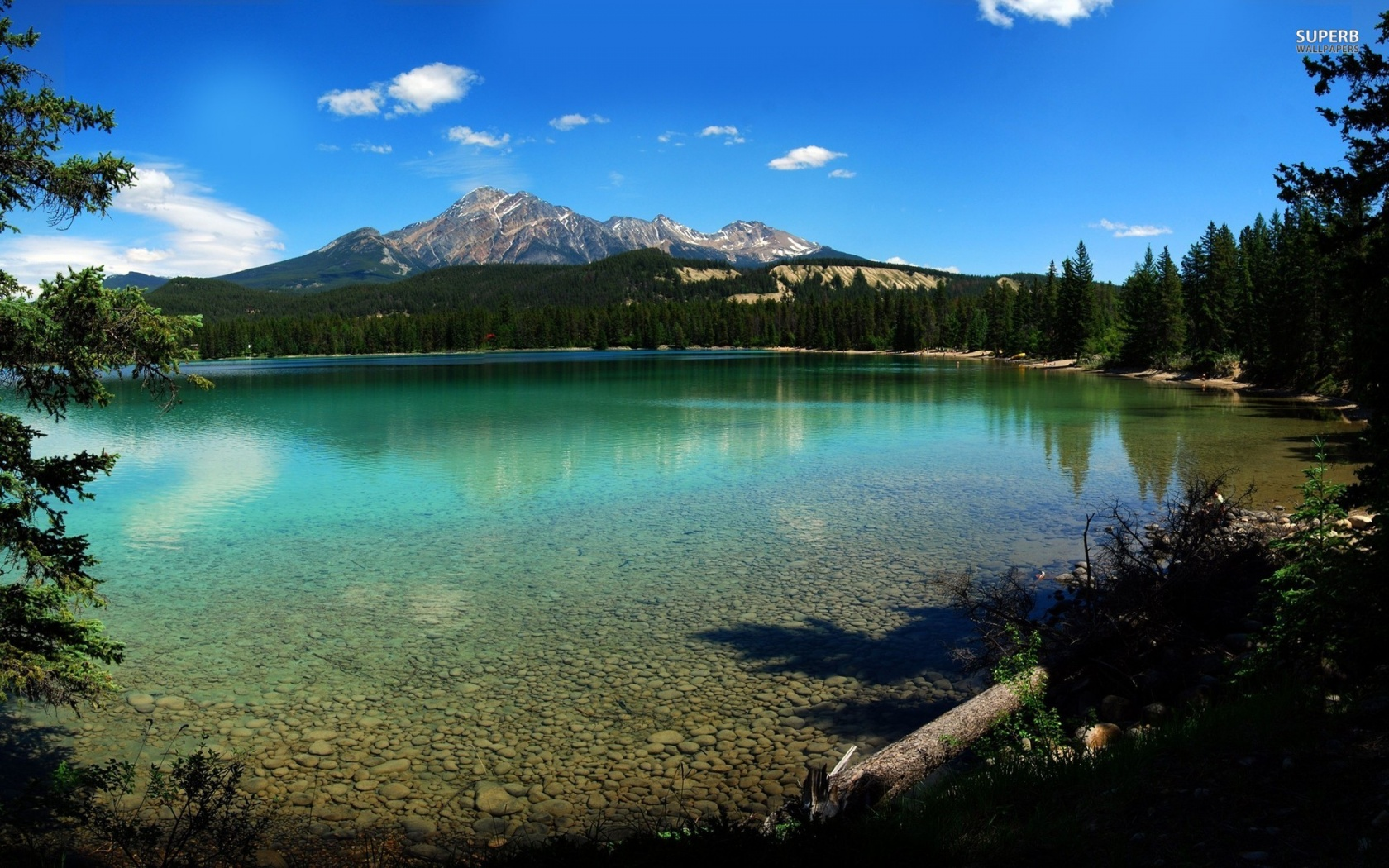 1680x1050 Jasper National Park desktop PC and Mac wallpaper 1680x1050