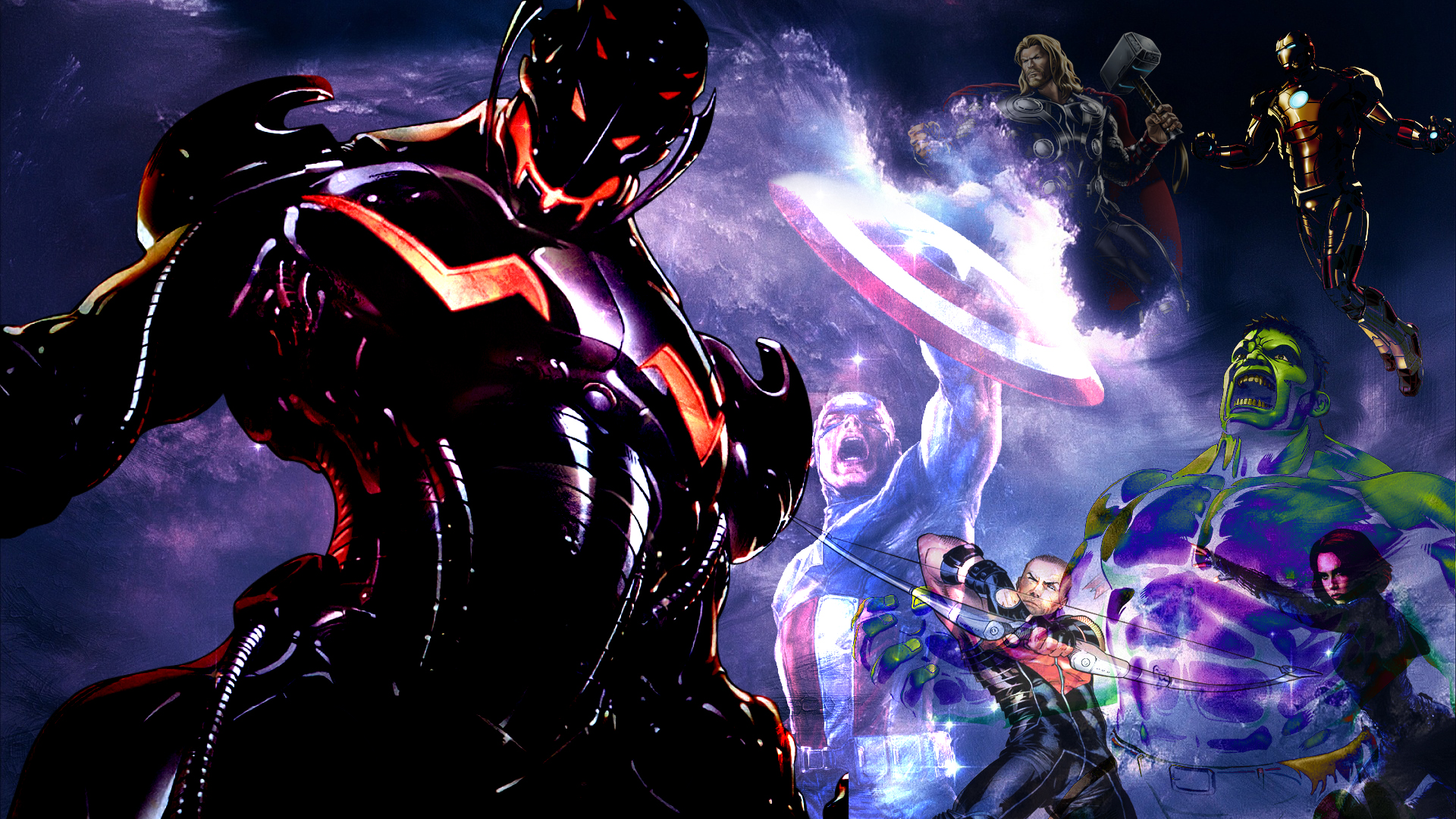Age Of Ultron Wallpaper by 19genocide87 1920x1080