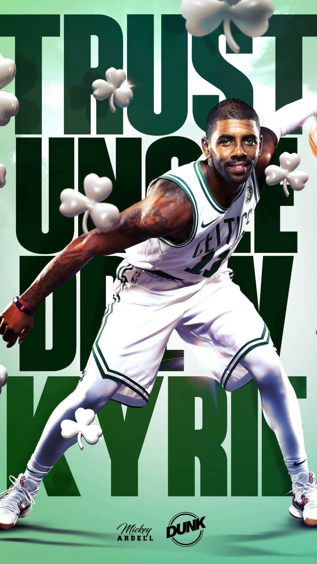 KYRIE IRVING WALLPAPER Irving wallpapers Kyrie irving celtics 1080x1920