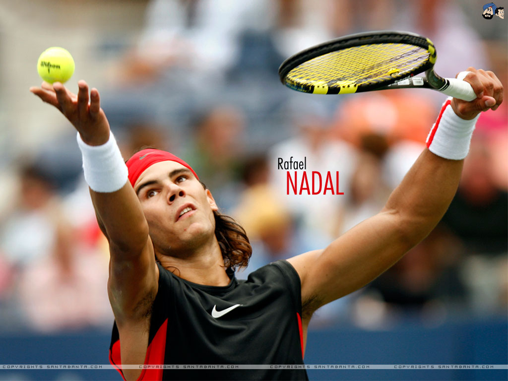 Rafael Nadal Wallpapers Download BXZ55AU   4USkY 1024x768
