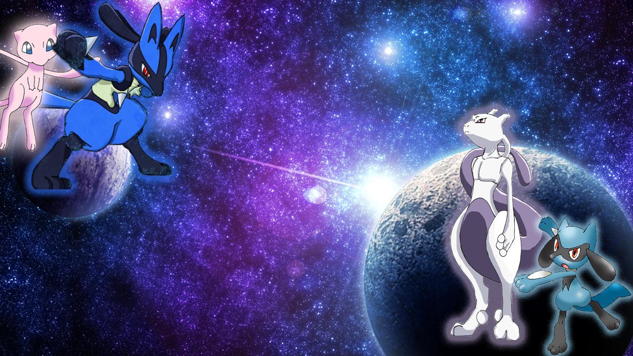 Lucario vs Mewtwo Wallpaper - WallpaperSafari