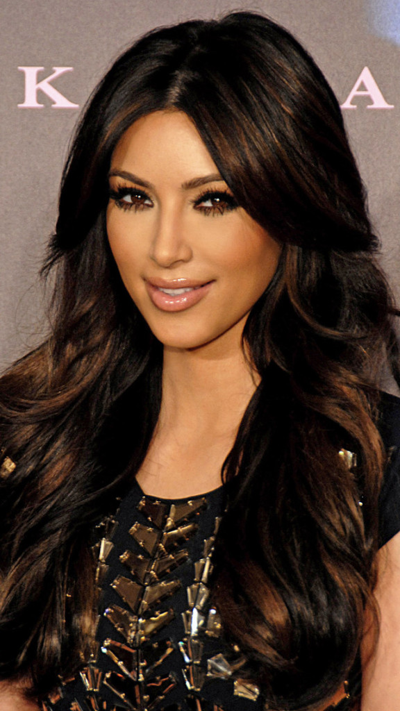 Kim Kardashian Iphone 5 Wallpaper HD Wallpapers   Kim Kardashian 576x1024