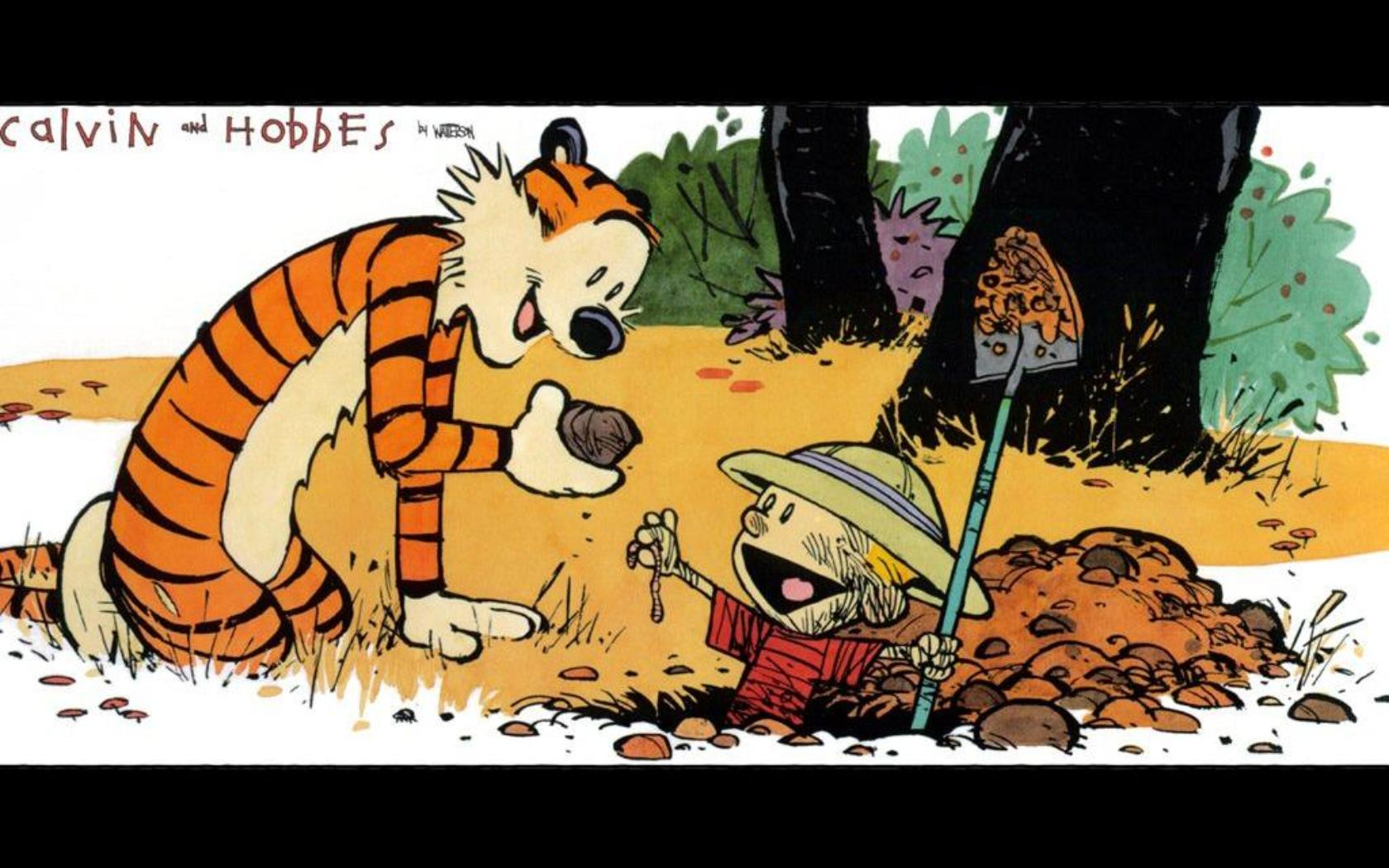 Calvin And Hobbes Art Hd Wallpaper 5047 1680x1050